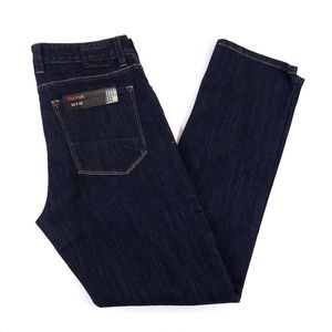 Mens Marmot Jeans SZ 32X32 Dark Wash Straight Leg